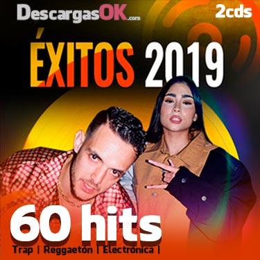 60 éxitos 2019 Trap Reggaetón Y Electrónica 2cds Edición Especial Reggaeton Trap Exito