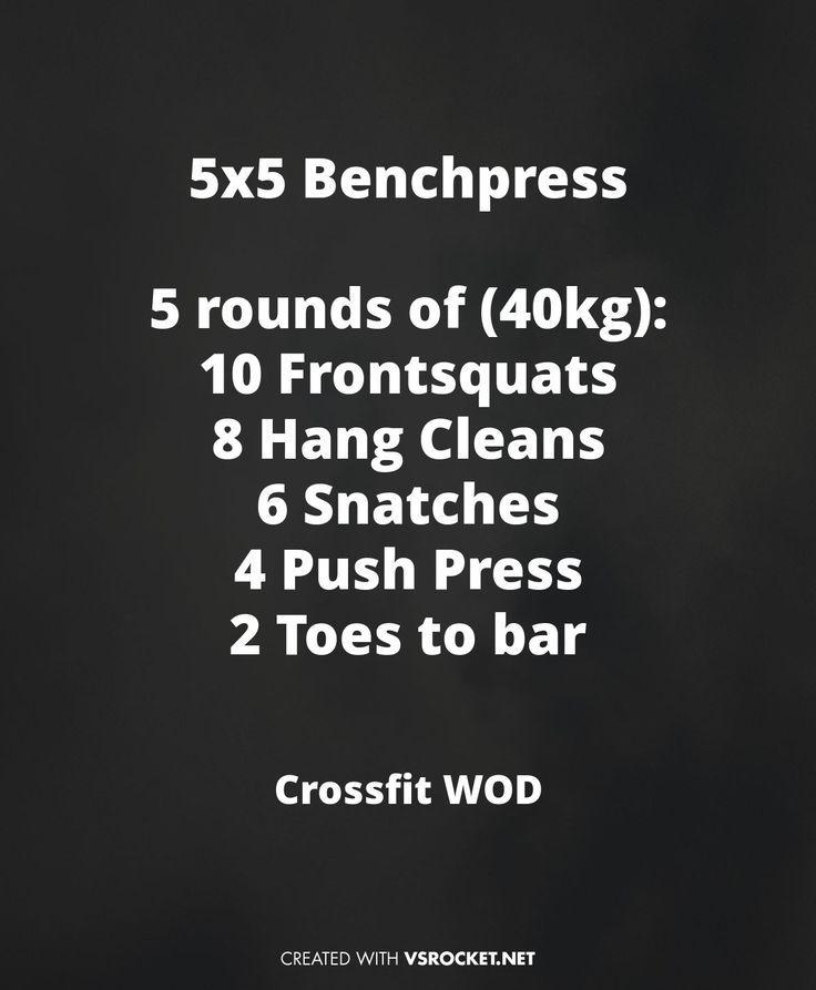 Crossfit WOD Shoulder Blowout #cleans #squats #snachtes - #30min #Athomeworkouts #Bauch #ejercicios...