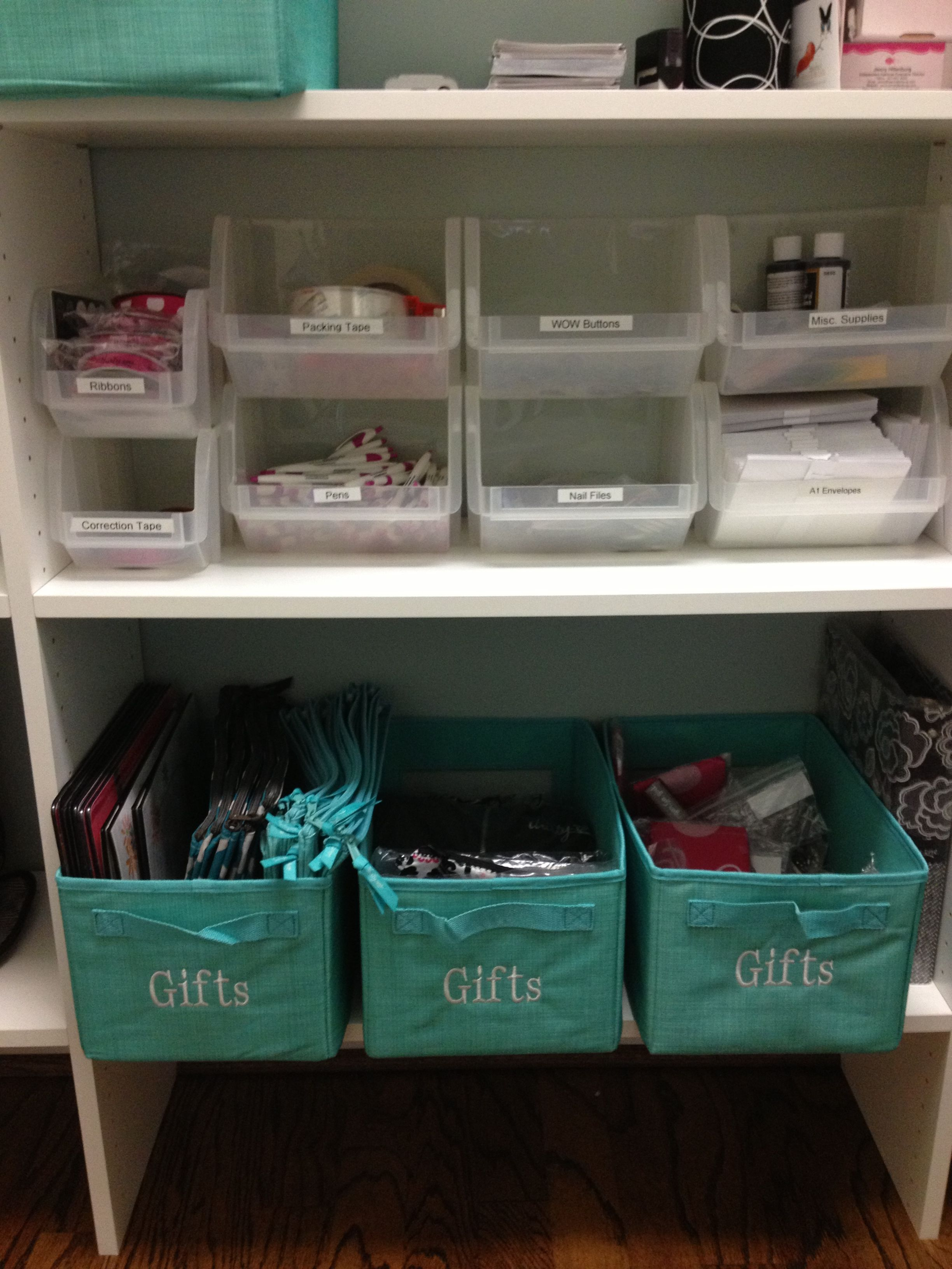 Thirty One Office Ideas 2019 An organized supply closet is a happy place! #thirtyoneconsultant