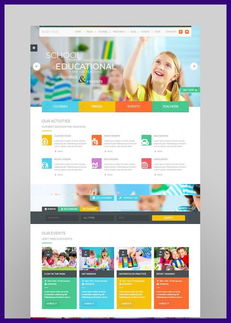 Web Design School 20 Top Education Wordpress Themes To Make School Sites Web Design Tre In 2020 Education Wordpress Themes School Site Web Design School