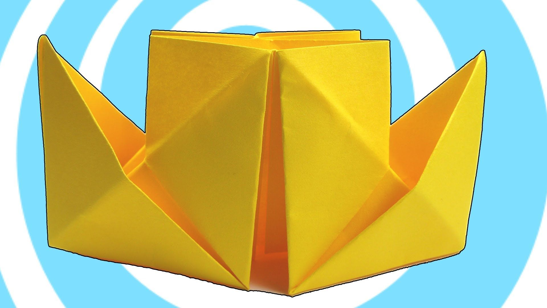 Origami Steamboat Instructions Origami Video Howto