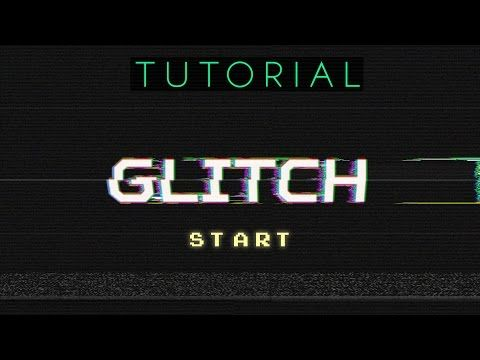ab53bf714 How To Create Awesome Glitch Effects - Photoshop Tutorial - YouTube ...