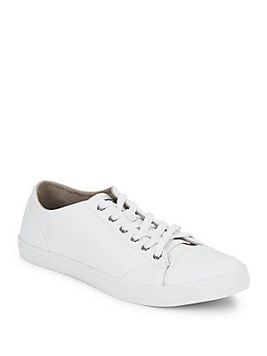 Cole Haan Trafton Cap-Toe Sneakers - White - Size