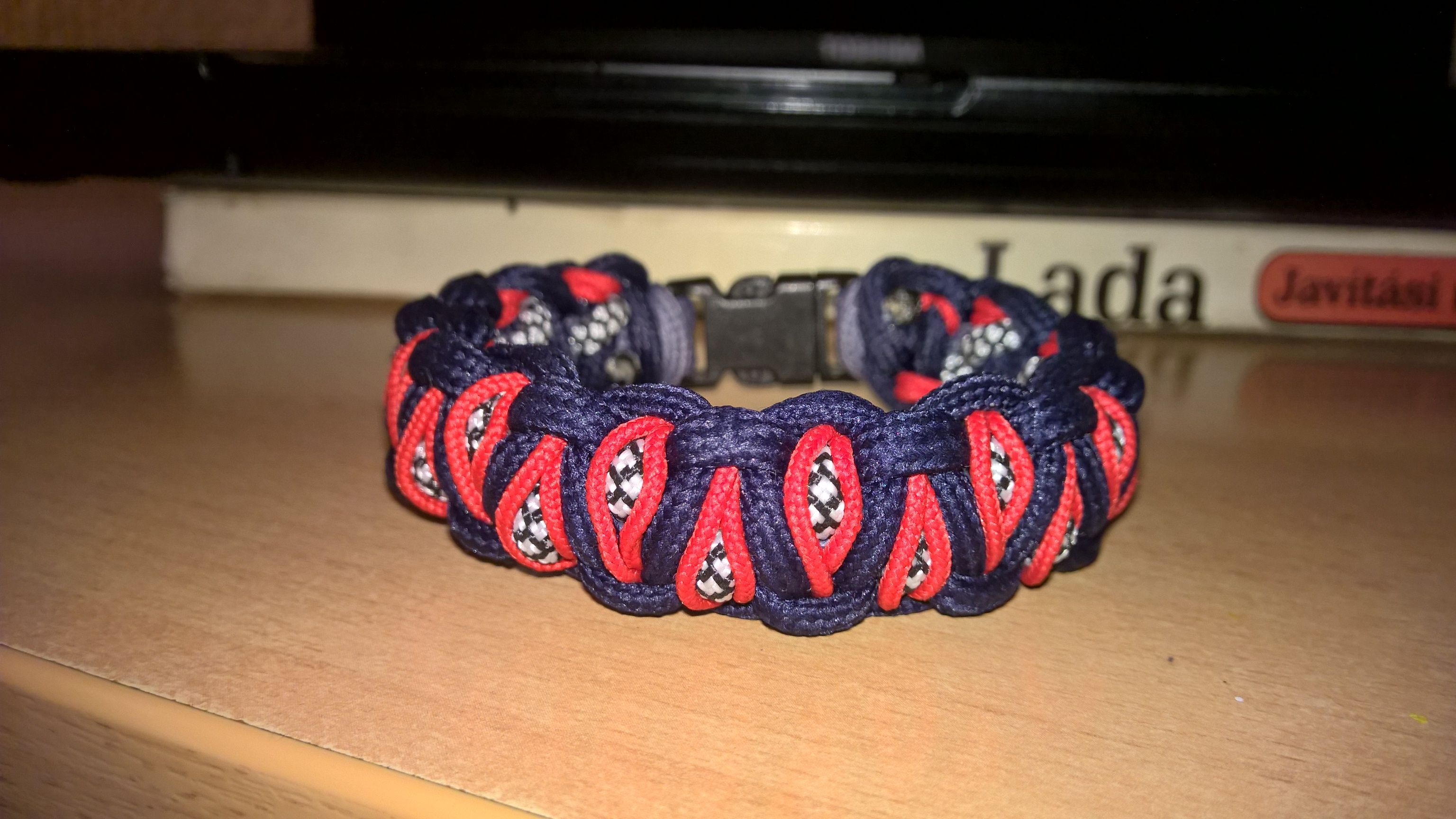edition paracord items line medallion eagle bracelets microcord bracelet survival red fire enlarge arm to thin click