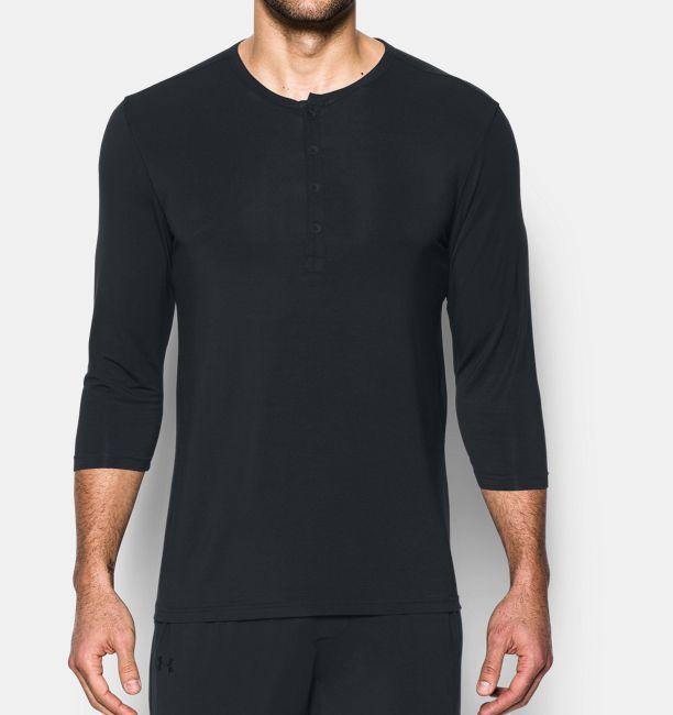 541ee35860c Men s Athlete Recovery Ultra Comfort Sleepwear Henley