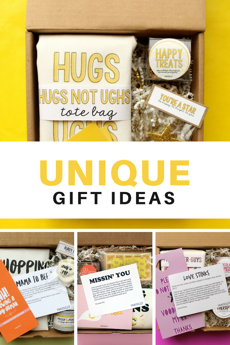 Unique Quirky Gift Boxes That You Can Send To Friends And Family Near Or Far Pick Me Up Gifts Break Birthday ALL THE GIFTS