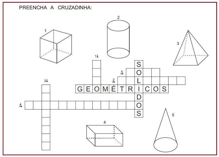 Atividades De Geometria Rerida Maria Atividades De Geometria