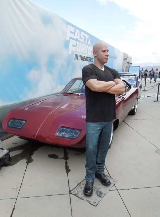 Fast & Furious 6 cars and Vin Diesel waxwork on display... | Fast ...
