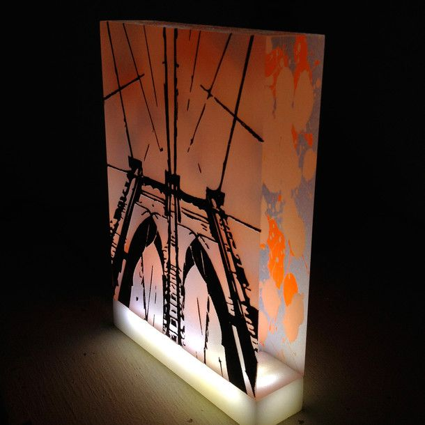 Brooklyn Bridge Lightbox