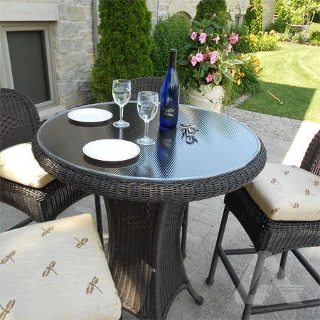 DIY Polycarbonate Patio Tabletop