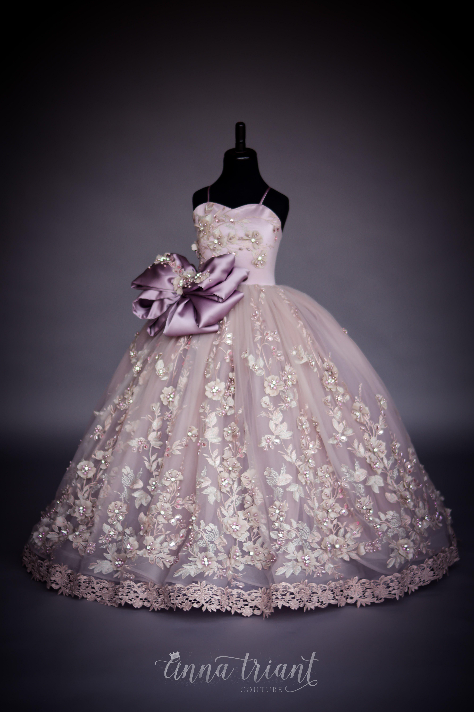 Serendipity Gown Vestidos Pars Niñas Vestidos De Princesa