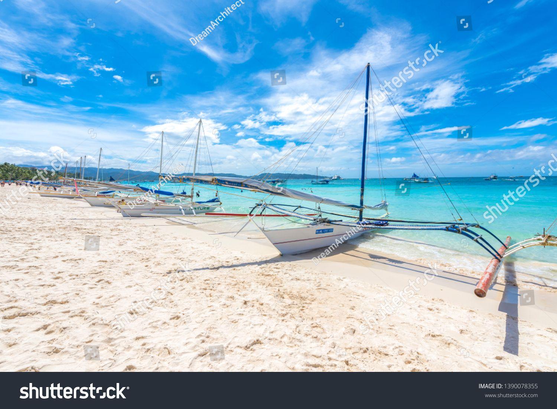 Boracay Island, Aklan Province, Philippines February