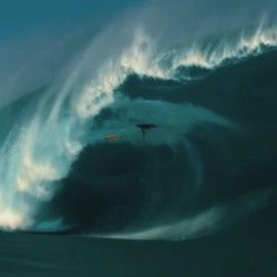 WSL big Wave Awards Wipeout Teahupoo.