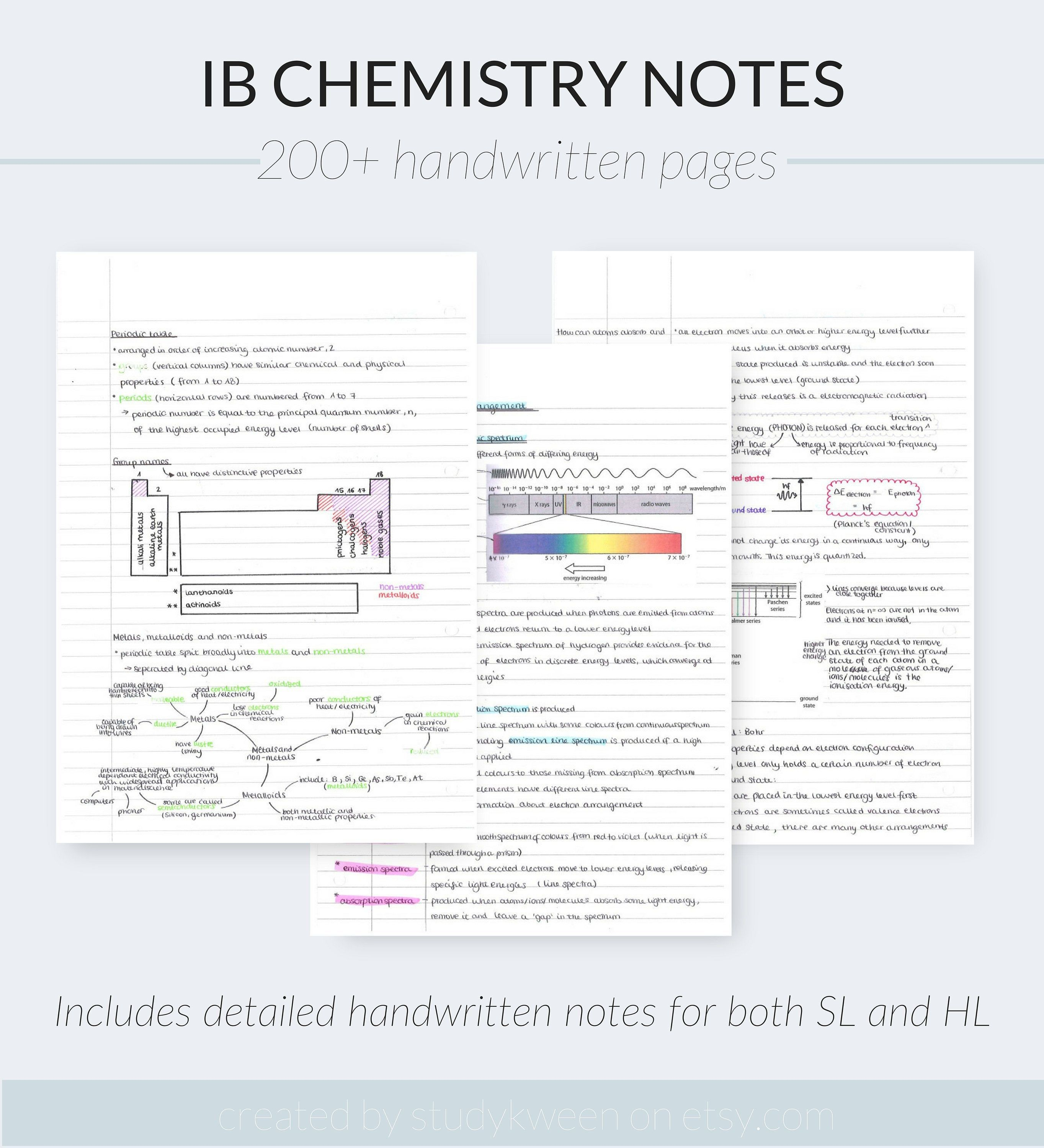Pin On Etsy Study Notes Printables