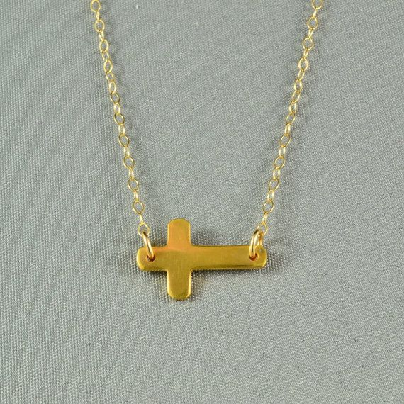 What are the Sideways Cross Necklace Meanings?