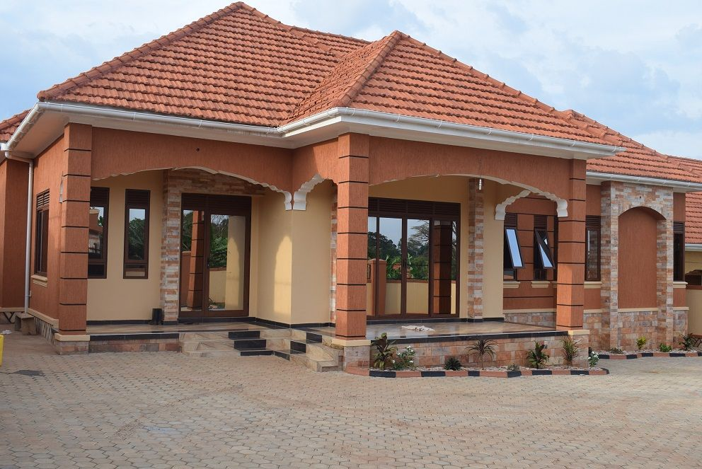 Houses For Sale In Uganda Kira Town Kampala Spectrum Real Estate Solutions Beach House Plans Cabin House Plans Modern Bungalow House Design