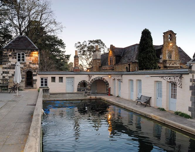 Montsalvat Eltham One Of My Favourite Places Pool Where Cam Kim
