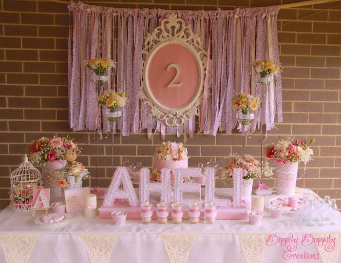 Shabby Chic Birthday Party Ideas Decor Planning Styling