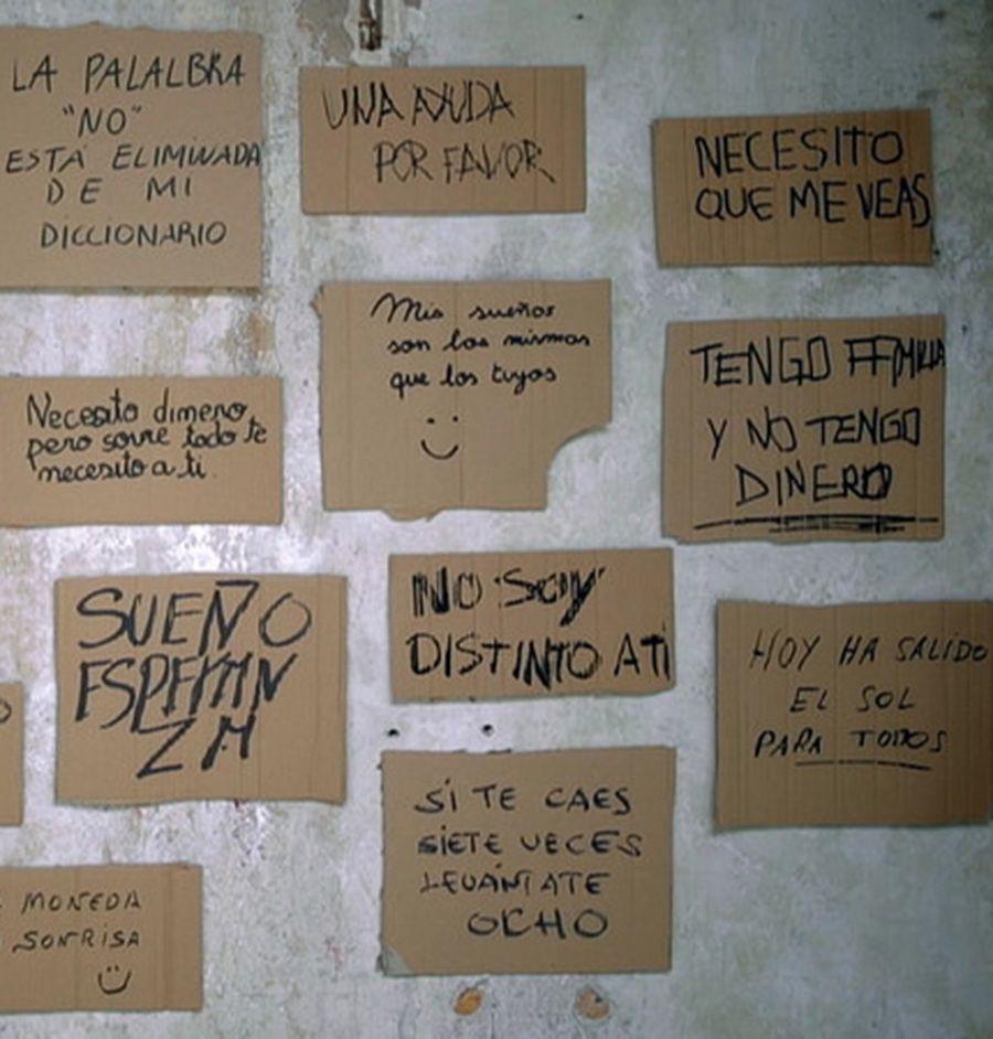 La letra de cada ser humano es única. Y cada mensaje nos muestra algo único de cada persona. Sólo debemos pararnos para comprender todos esos mensajes que nos rodean.