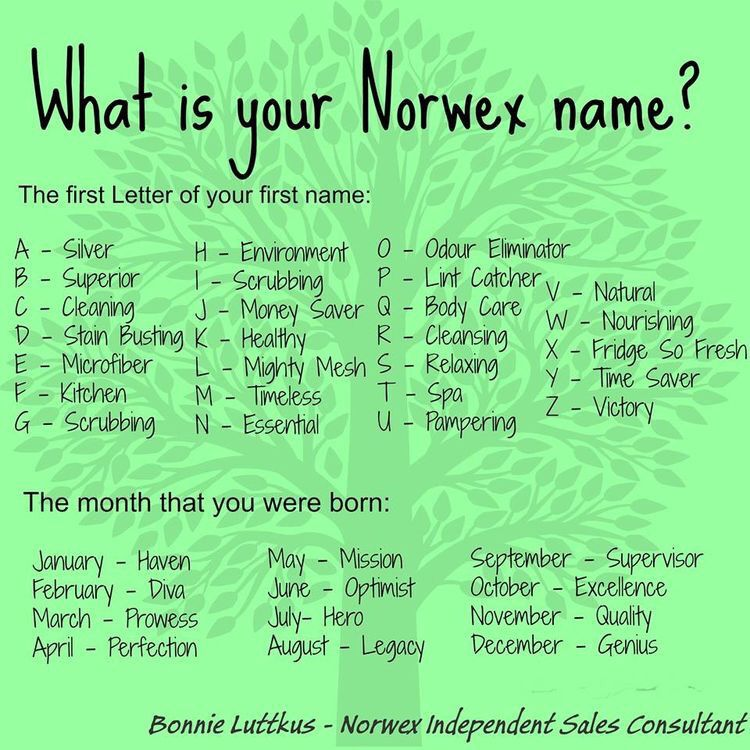 Norwex What Is Your Name  Norwex    Norwex Party Job