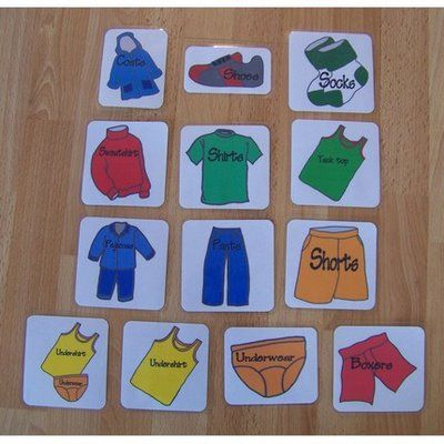 Picture Word Labels For Organizing Drawers Alzheimer S