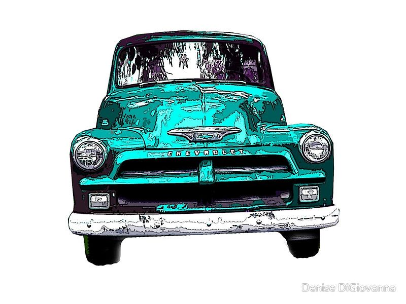 digitally enhanced vintage car • Buy this artwork on phone cases ...
