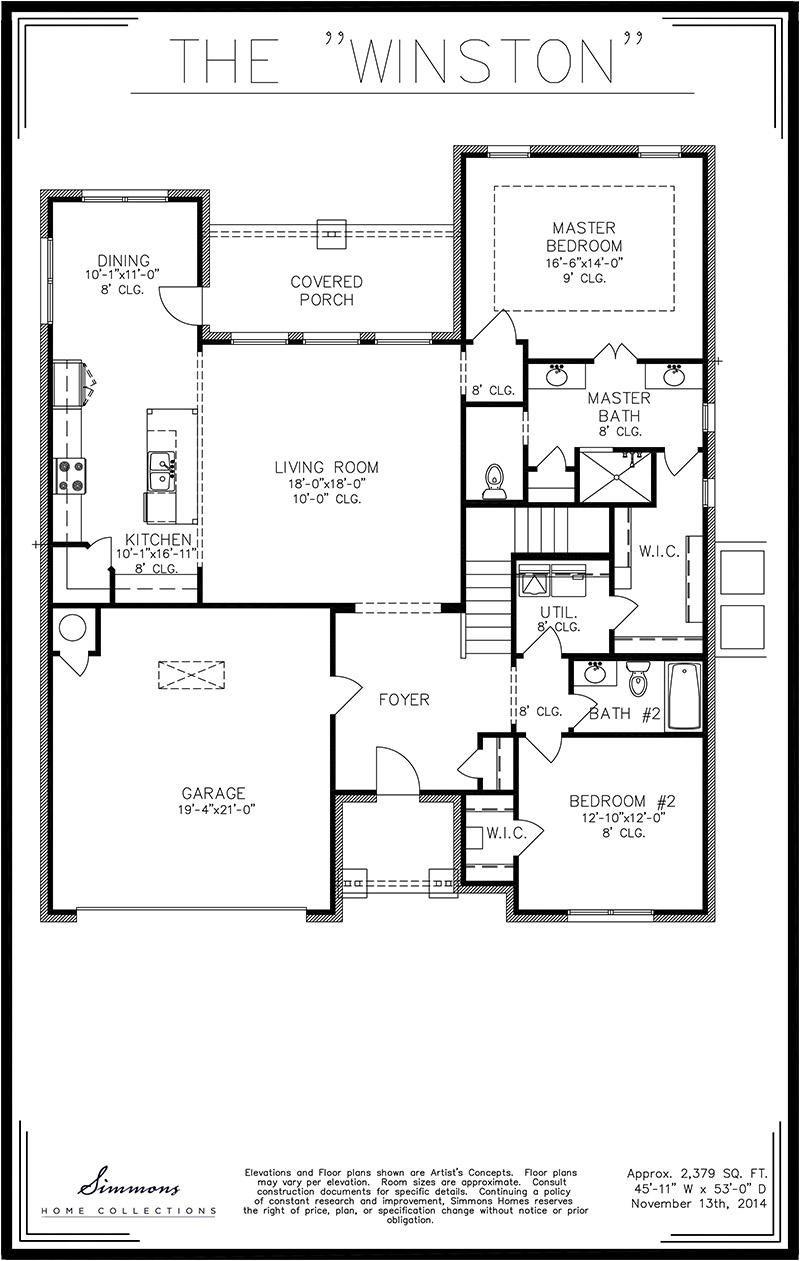 Attractive Tulsa Home Builders Floor Plans #6: Winston | Tulsa Home Builders | Simmons Homes