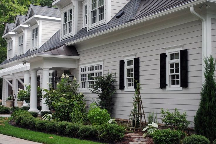 Light Grey Houses House Color Light Grey Home Idea 39 S Exteriors Pinterest Grey Houses