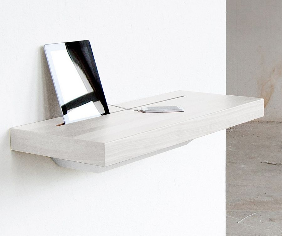 Elegant Stage Offers A Discreet Charging Shelf For Your