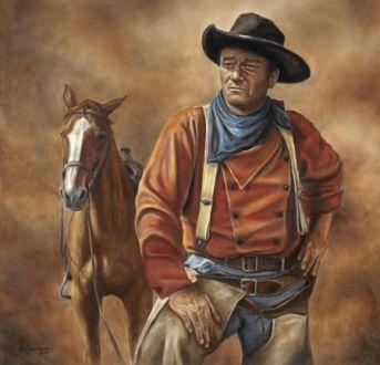 John Wayne Wallpapers Cowboy Art Western Art John Wayne Movies
