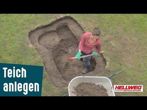 10 Gartenteich Anlegen Schritt Fur Schritt Anleitung Youtube In 2020 Gartenteich Teich Anlegen Teich