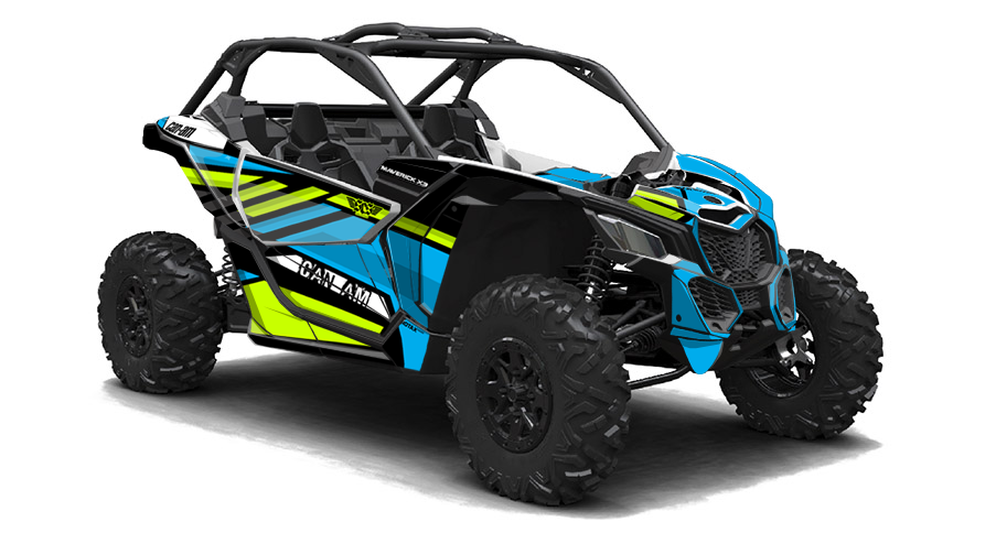 Buzzard Can-Am Maverick X3 Graphics | Only Graphics Endorsed