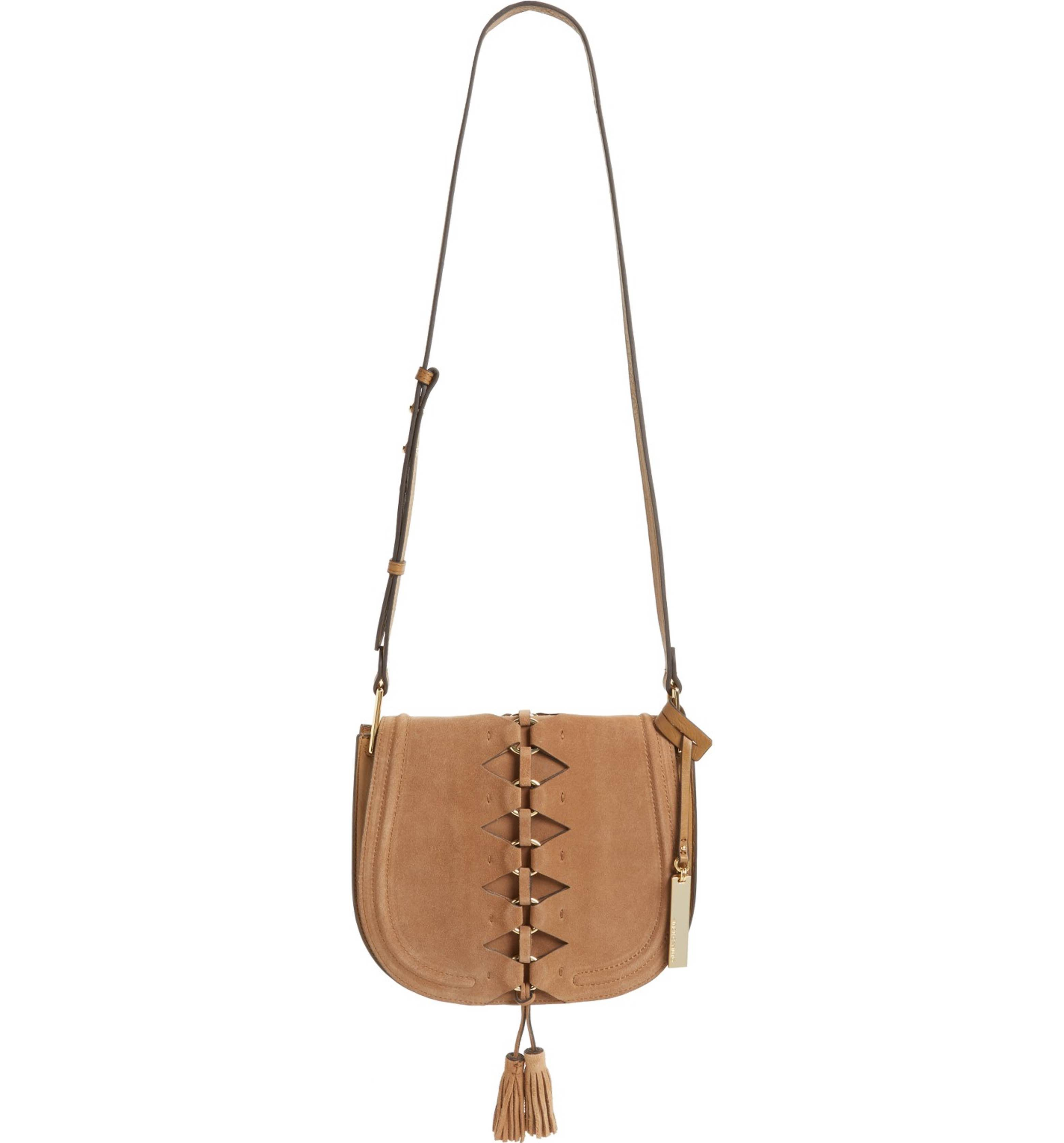Main Image Vince Camuto Ancel Suede Crossbody Bag Products I