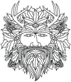 Pagan Yule Log Google Search With Images Coloring Pages
