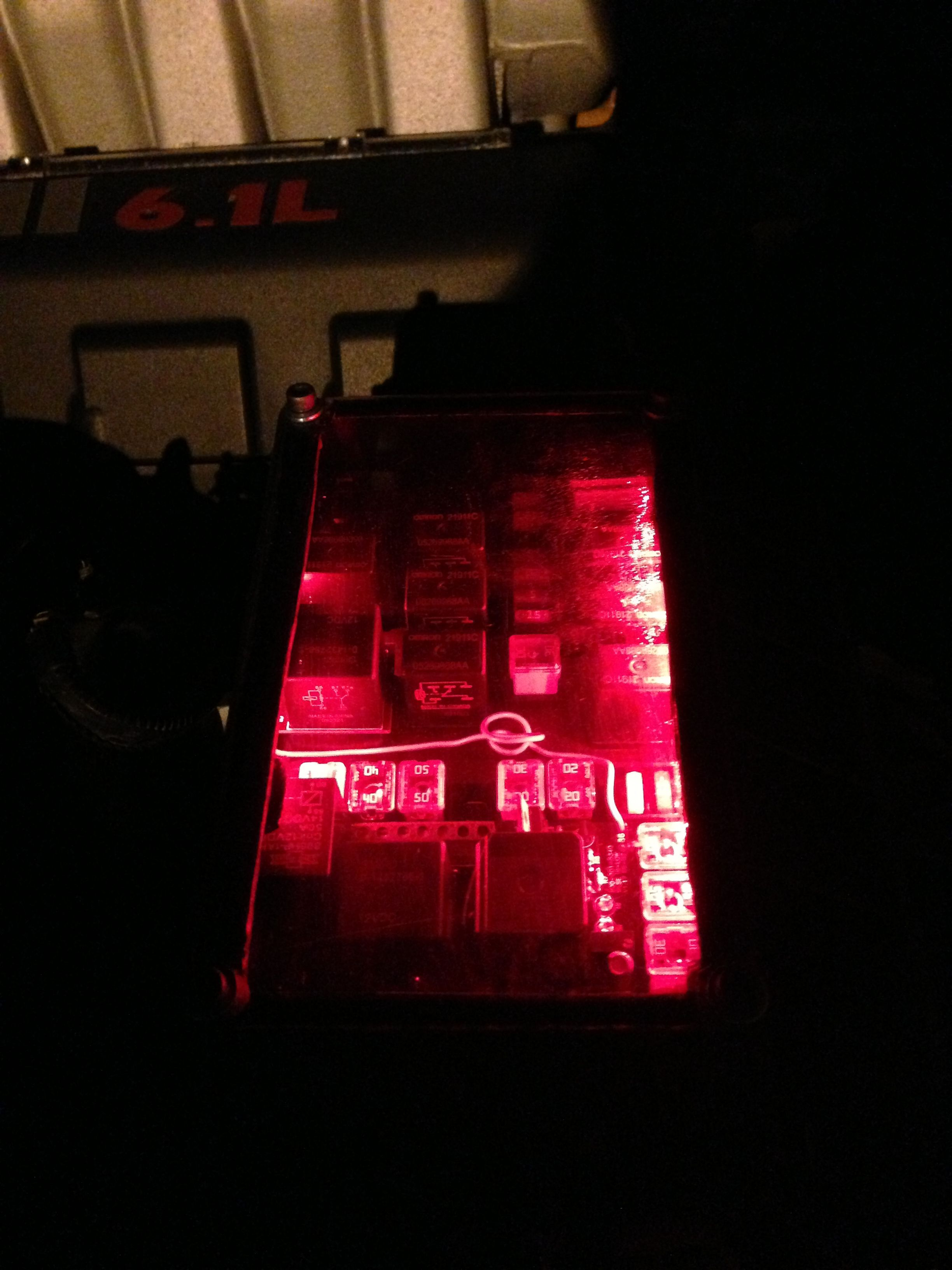 2006 Dodge Charger SRT8 Fuse box.