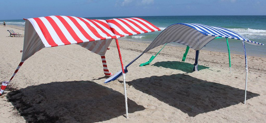 Sunsail Cabana The Latest In Beach Shade Cabanas Better Than Umbrellas