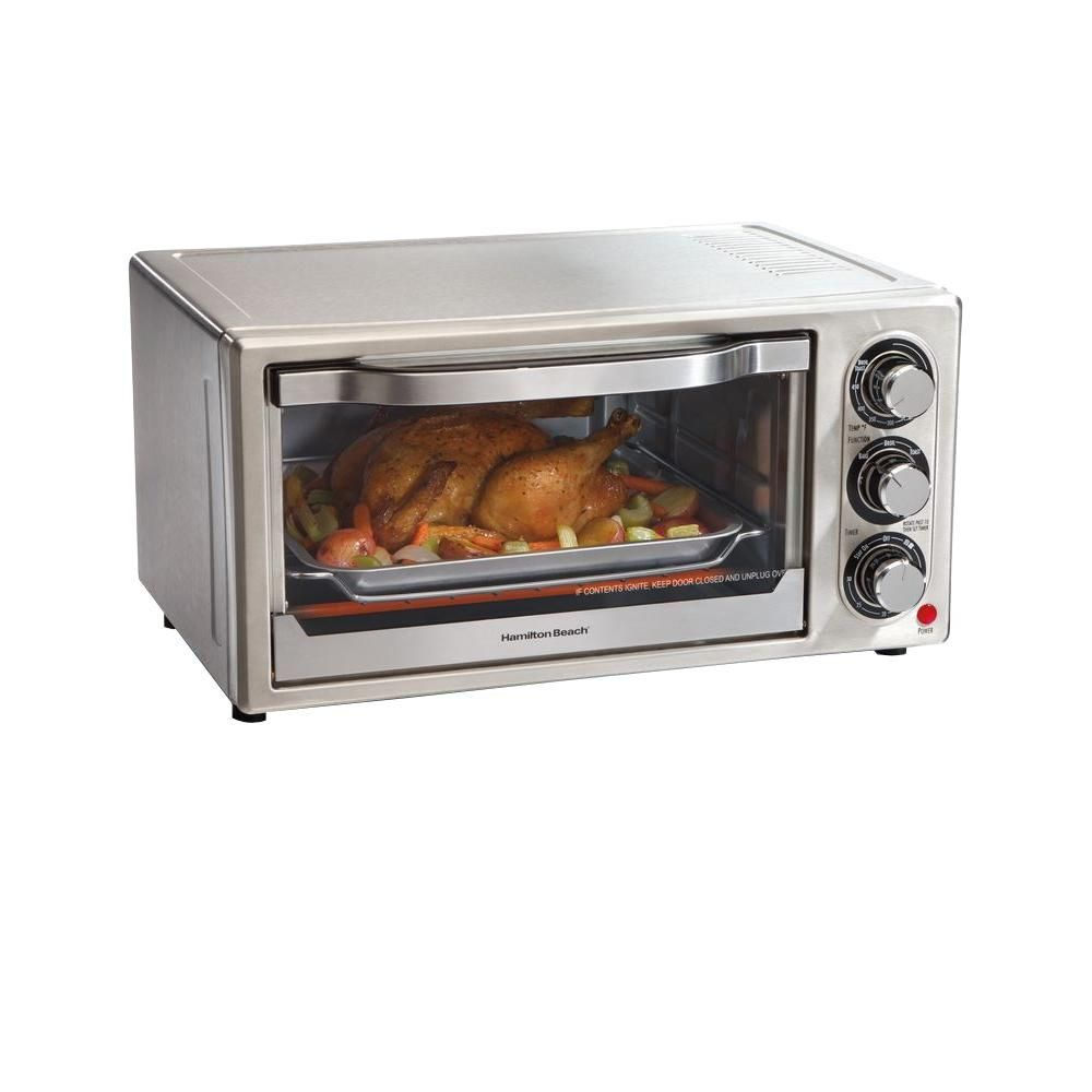 Hamilton Beach Stainless Toaster Oven 31511 Products Countertop Oven Toaster Stainless Steel Oven