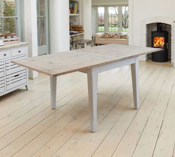 Ridley Grey Square Extending Dining Table Dining table