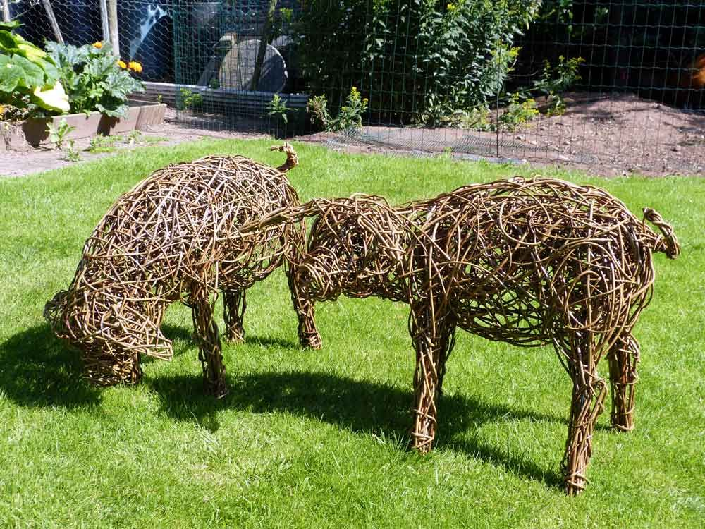 Willow Animals For The Garden   Google Search