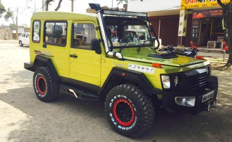 Tastefully Modified Suvs Of India Force Modified Cars Custom