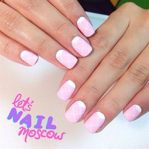 50 Most Beautiful Pink And White Nails Designs Ideas You Wish To Try