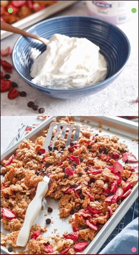 This Homemade Granola Is Extra Special, The Addition Of Freeze Dried Strawberries And Dark Chocolate Chips Really Sets It Apart. #Recipe From #Granola #Homemadegranola #Breakfast #Strawberrygranola #Chocolategranola #freezedriedstrawberries This Homemade Granola Is Extra Special, The Addition Of Freeze Dried Strawberries And Dark Chocolate Chips Really Sets It Apart. #Recipe From #Granola #Homemadegranola #Breakfast #Strawberrygranola #Chocolategranola #freezedriedstrawberries