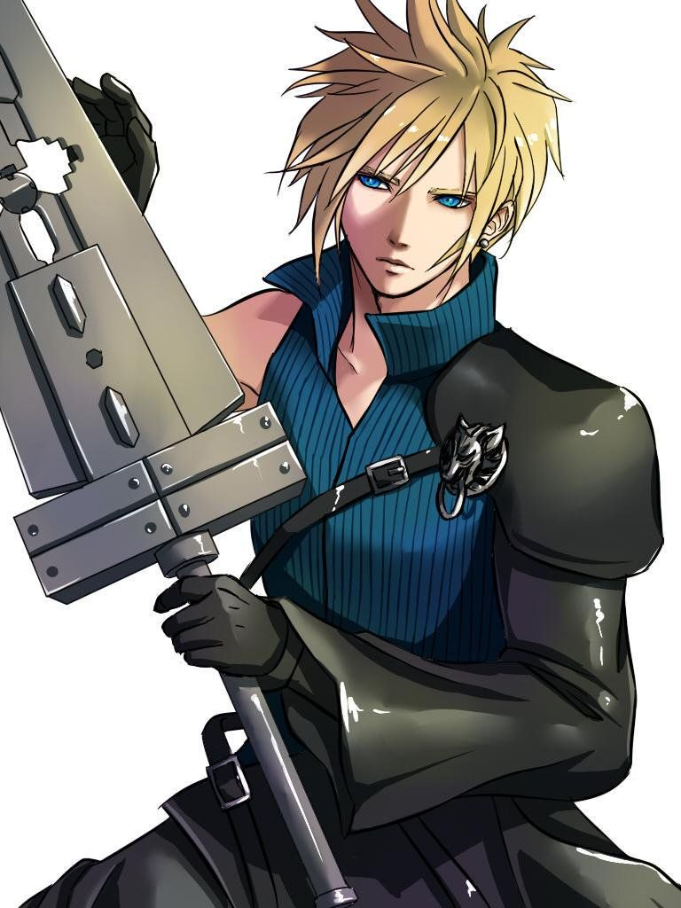 Cloud Final Fantasy VII #FFVII 7