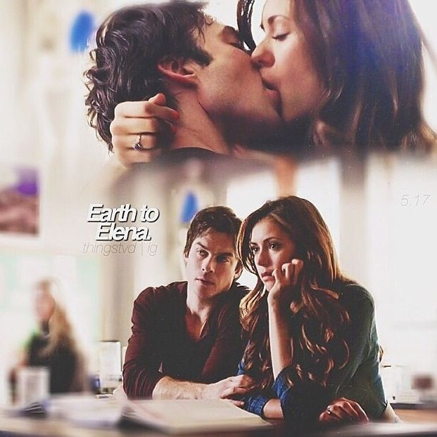 When will Elena and Damon start dating in the show vampire diaries