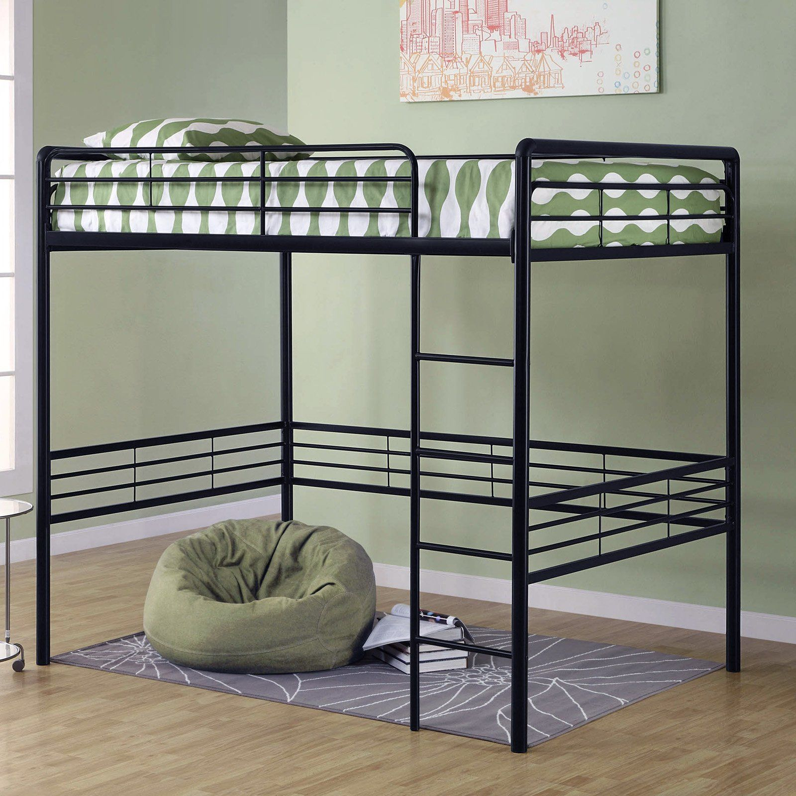 Loft bed ideas for girls  Have to have it Dorel Home Gates Full Loft   hayneedle