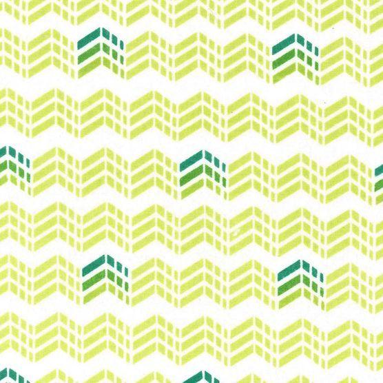 Keepsake Calico Fabric- Chevron Trio Green at Joann.com