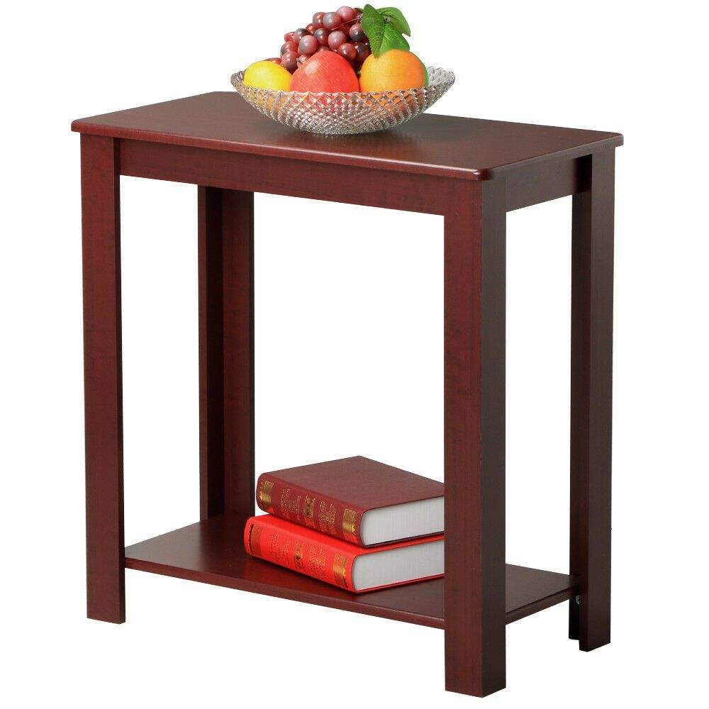 Chair Side Table Narrow End Table Small Spaces Side Table Slim Chairside Table Chair Side Table Round Coffee Table Living Room Living Room Furniture Tables