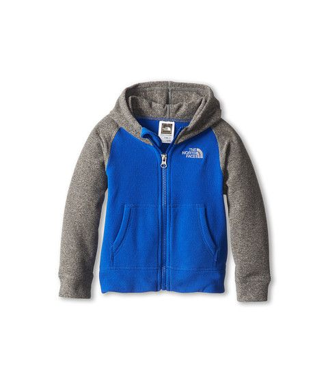 a391795d233c The North Face Kids Boys  Glacier Full Zip Hoodie 12 (Toddler ...