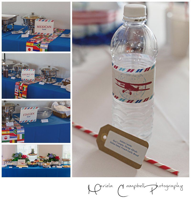 Around The World Dinner Party Ideas Part - 43: Around The World Menu Options - Travel Themed Baby Shower. Travel Party  ThemesAirplane ...