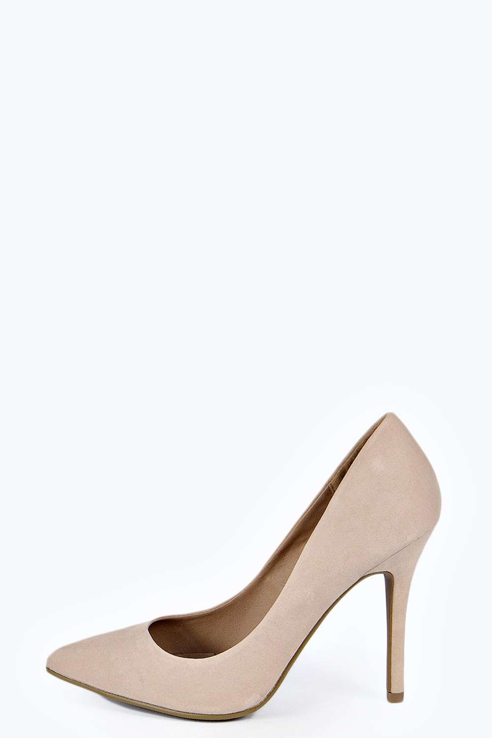 Boohoo Womens Mia Pointed Court Heels